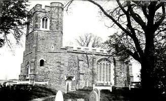 L'Église de Clophill en 1900