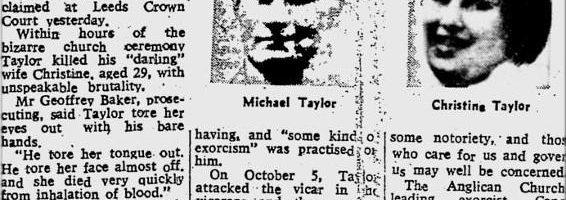 L'Exorcisme de Michael Taylor