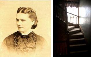 Julia et l'escalier de Zeke