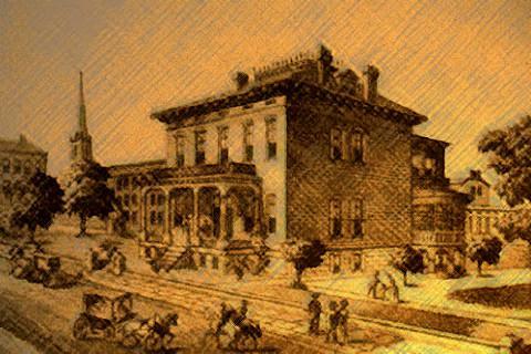 Manoir des Lemp en 1922