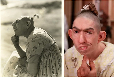 Schlitzie et Pepper