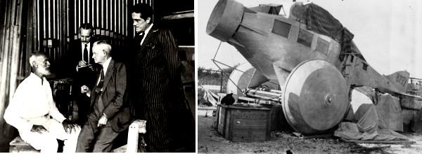 Carl Tanzler et son Avion
