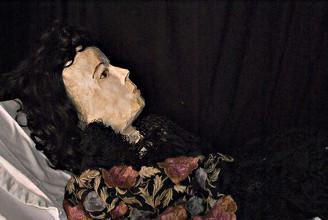 Mannequin de cire d'Elena
