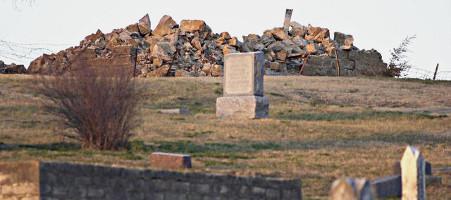 Ruines de l'église de Stull