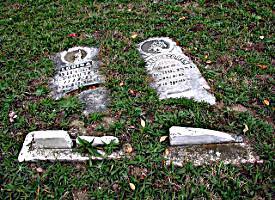 Tombes Vandalisées à Stull