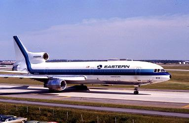 Tri-Star de la Eastern Airlines