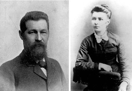 Adolph et louisa Luetgert