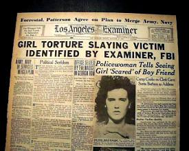 Journal Elizabeth Short