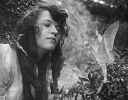 Elsie et une Fée de Cottingley