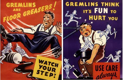 Affiches Gremlins Aviation