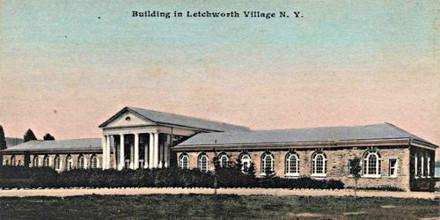 Carte Postale Letchworth Village