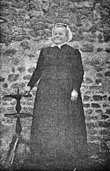 Angélique Cottin en 1898