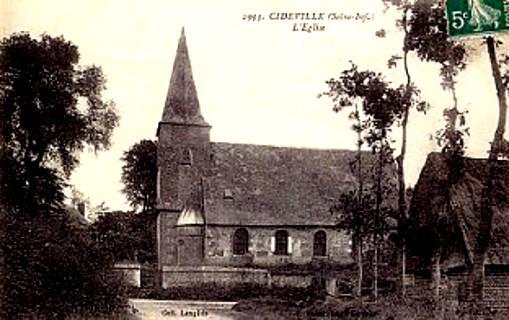 L'Église de Cideville