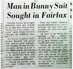 Article Journal Fairfax Homme-Lapin