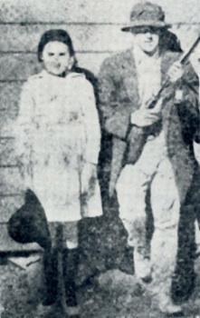 Minnie Bowen et son Père