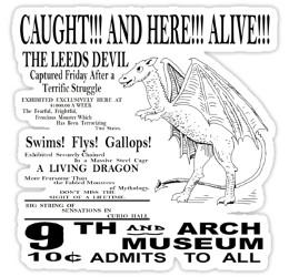 Affiche Diable de Jersey