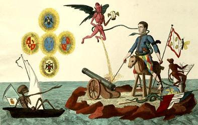 L'Homme Rouge arrête Napoléon