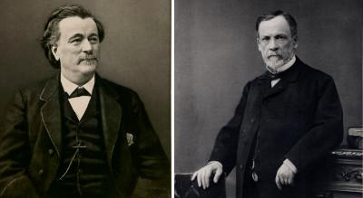 Paul Bert et Louis Pasteur