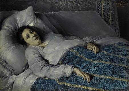 Jeune Femme Mourante