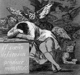 Le Sommeil selon Goya