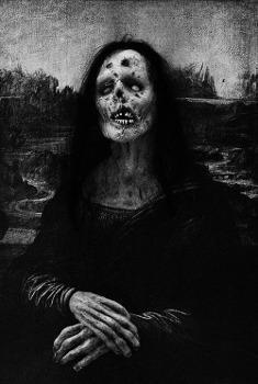 Mona Lisa Mort-Vivant