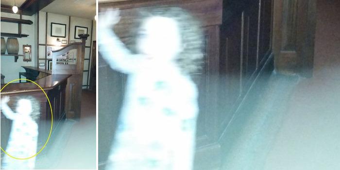 Fantôme au Riverside Museum de Glasgow