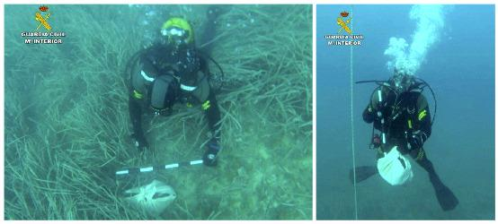 Plongeurs de la Guardia Civil Calp