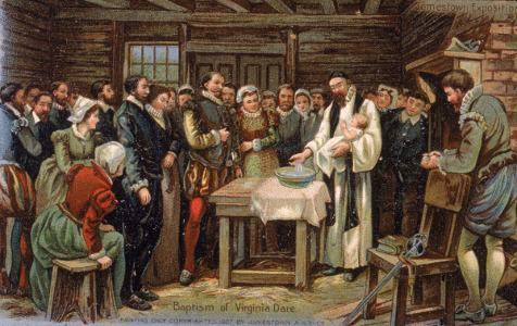 Le Baptême de Virginia Dare