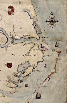 Carte Roanoke-Croatoan