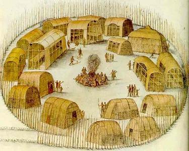 Roanoke Village Indien