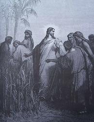 Jésus Passant au Milieu d'Eux