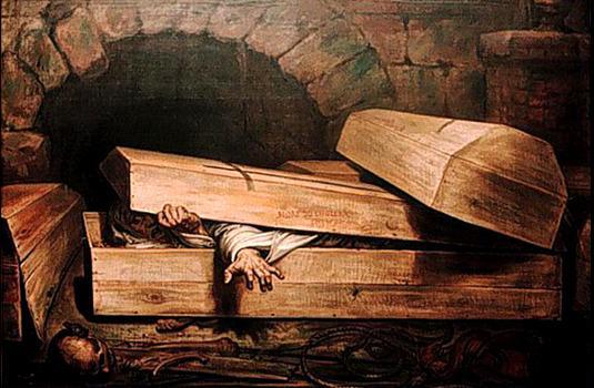 Mort Sortant de son Cercueil