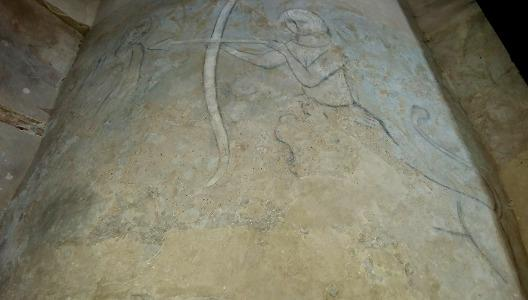 Fresque Centaure Houska