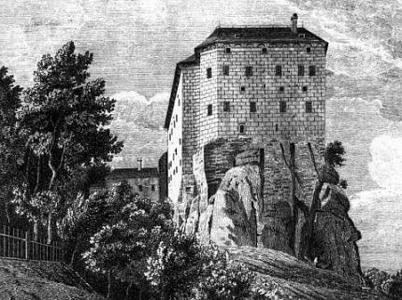 Dessin Château Houska