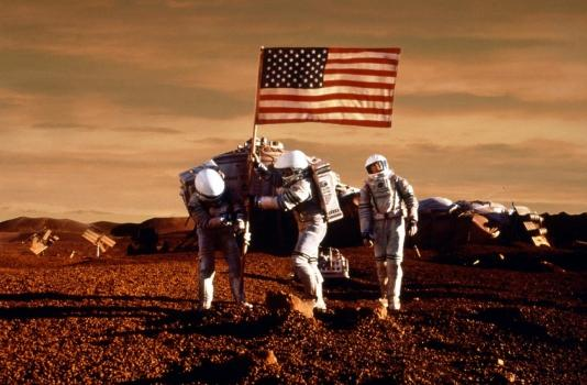 Astronautes Mars